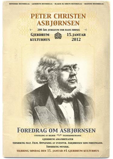 200 års jubileum for Peter Christen Asbjørnsen
