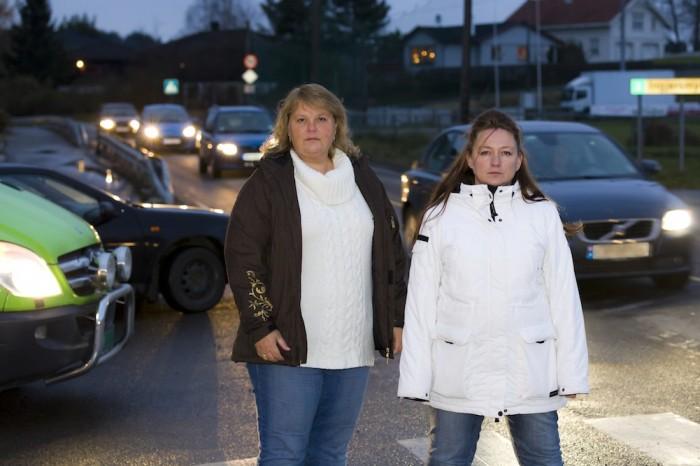 LØRENFALLET: Aksjon for bedre trafikksikkerhet