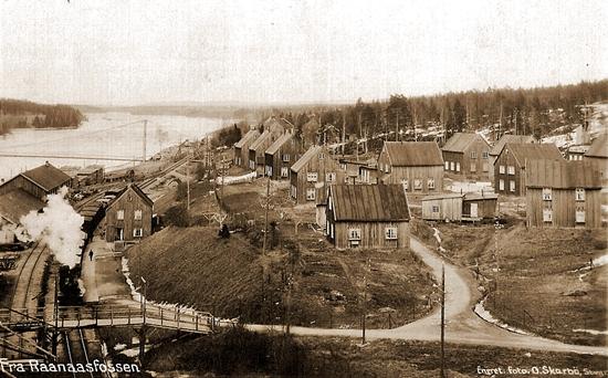 Historiske Rånåsfoss - må sees i helhet
