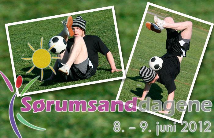 Fotballkunstneren Mats Weinholdt kommer til Sørumsand