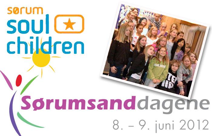 Sørum Soul Children synger på Sørumsanddagene