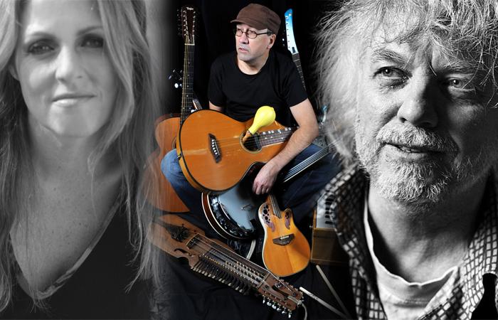 Trond Granlund, Sarah Nebel og Roar Vangen, mandag 17. juni