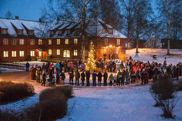 Julemarked på Blaker Skanse 2. og 3. desember