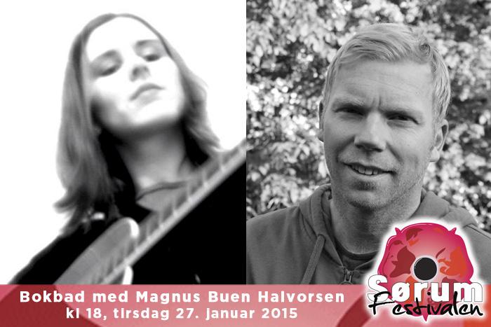 Bokbad med Magnus Buen Halvorsen