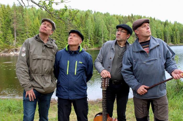 Fest på Vølneberg med Enda Kaldere