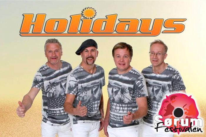 Dansekveld med Holidays