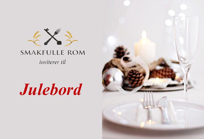 Smakfulle Rom inviterer til Julebord