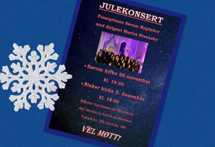 Julekonserter med Fossegrimen!