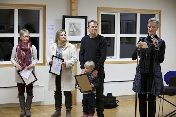 Kunstkonkurransen 2014 - Tre vinnere tilbys utstillingsplass
