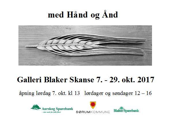 Utstillingen «med Hånd og Ånd – 100 år med kunst og håndverk»