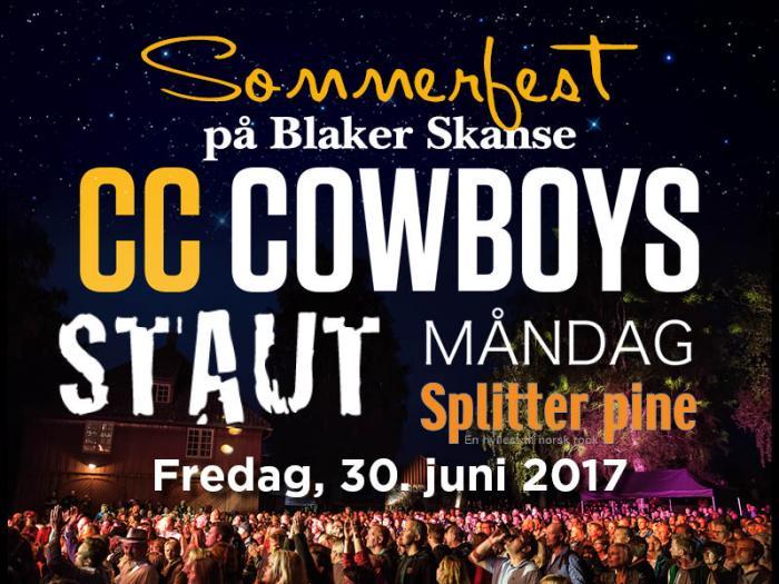 Sommerfest på Blaker Skanse 2017 - 30. juni