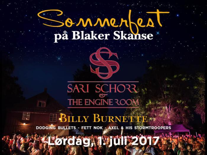 Sommerfest på Blaker Skanse 2017 - 1. juli