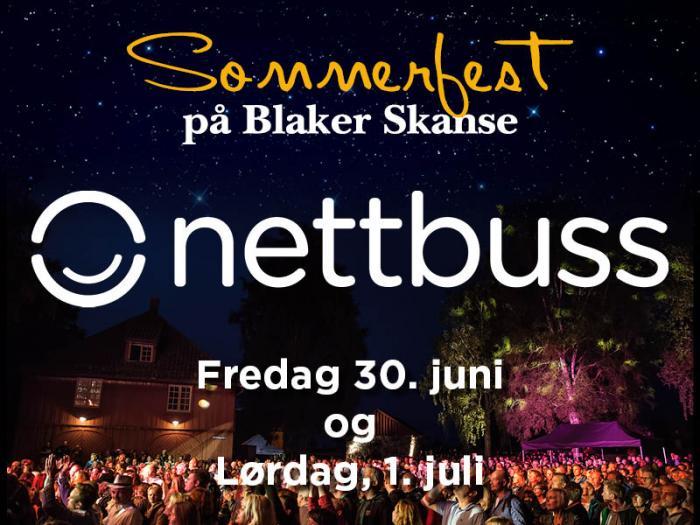 Nettbuss setter opp busser til Sommerfesten