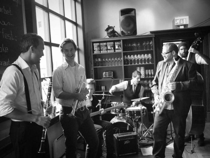 New Orleans Jazz på Teten med Shoeshine Boys