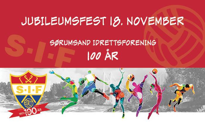 Sørumsand Idrettsforening 100 år