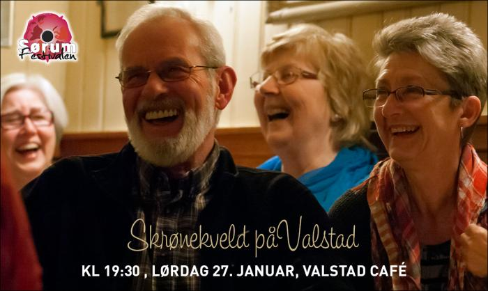 Skrønekveld på Valstad Cafe