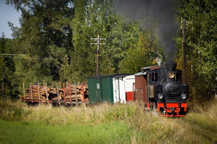 Historisk stordrift hos Urskog-Hølandsbanen
