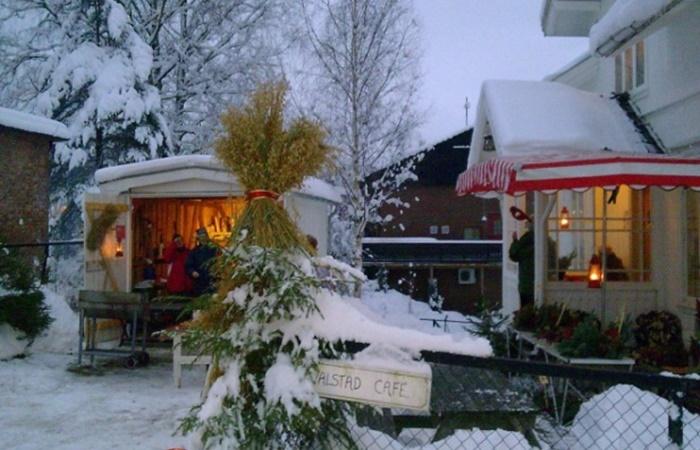 Gammeldags Julehus på Valstad Cafe