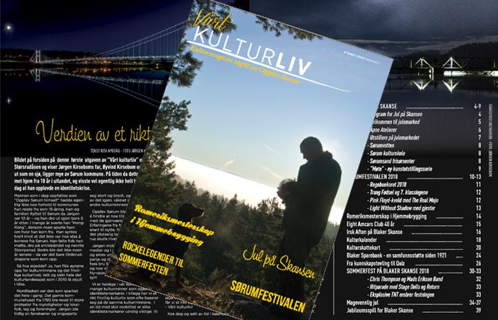 Opplev Sørum gir ut kulturmagasin